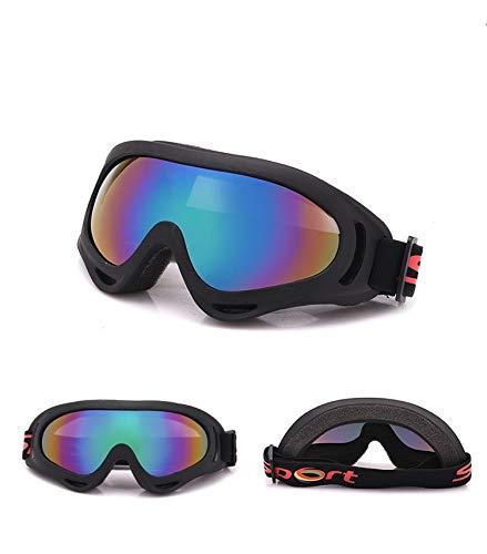 Yiph-Sunglass Sonnenbrillen Mode Neue Outdoor-Schutzbrillen Reiten Motorrad Sportbrillen Sand-Beweis Fan Taktische Ausrüstung Ski Brille Männer Frauen (Color : Multi-Colored)