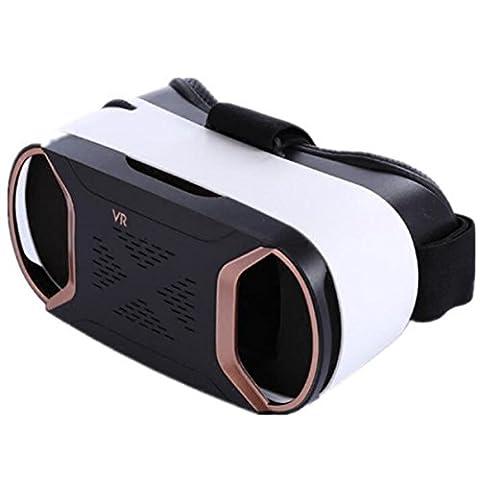 VR Réalité Virtuelle 3D Des Lunettes VR Soutenir Android IOS 4 ~ 6 Pouces Téléphone Intelligent Casque Sans Fil Bluetooth Poignée Films 3D Des Vidéos Des