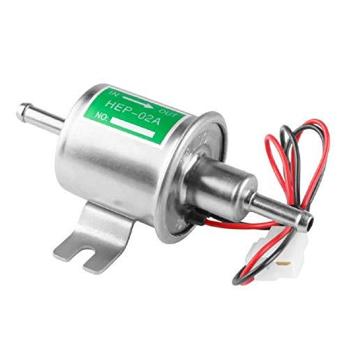 GreatFunElektronische Kraftstoffpumpe für Kraftfahrzeuge Elektronische Kraftstoffpumpe für Benzinpumpe In-Line-Niederdruck-Kraftstoffpumpe, Farbe, für allgemeine Modelle,Kraftstoffpumpe der Wahl -