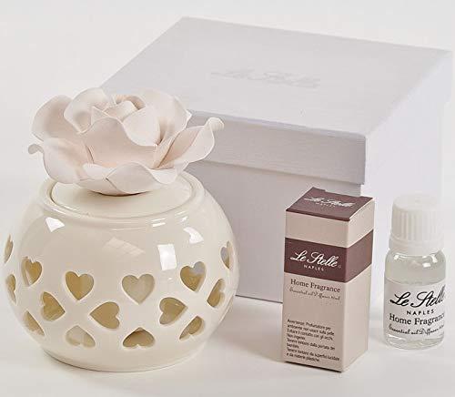 Digiglio Bomboniere BOMBONIERA Matrimonio Nozze PROFUMATORE Ambiente Porcellana Box DGS50119