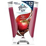 Glade by Brise Premium-Duftkerze im Glas, Bis zu 52 Stunden Brenndauer, Aromatischer Apfel & Zimt-Duft, 224 g