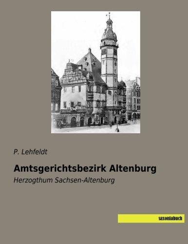 Amtsgerichtsbezirk Altenburg: Herzogthum Sachsen-Altenburg