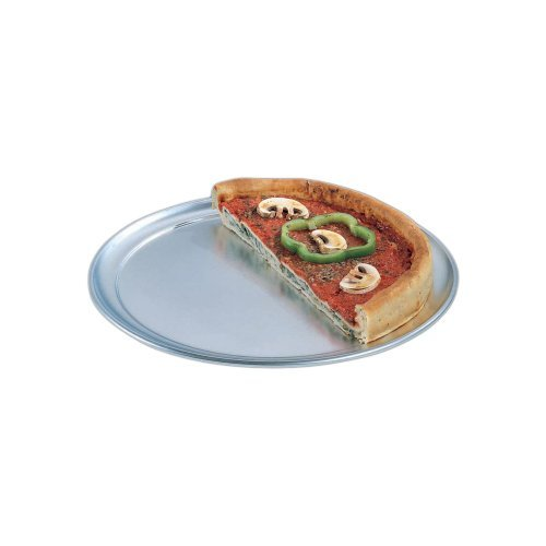 American Metalcraft TP14 TP Series 18-Guage Aluminum Standard Weight Wide Rim Pizza Pan, 14-Inch by American Metalcraft American Metalcraft, Inc Wide Rim Pizza Pan