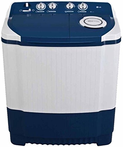 Lg 7.0 Kg Semi Automatic Top Loading Washing Machine  P8071N3Fa, Dark Blue  Washing Machines   Dryers