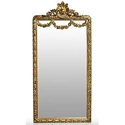Casa Padrino Espejo Barroco Dorado 120 x H. 242 cm - Espejo de Pared Barroco