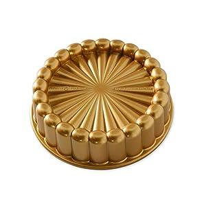 Nordic Ware 83577 Charlotte Kuchenform, Einheitsgröße, gold