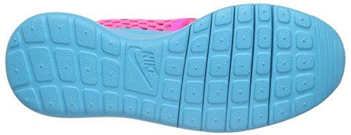 Nike Roshe One Flight Weight (Gs), Scarpe da Ginnastica Bambina Rosa (Pink Blast/Gamma Blue)