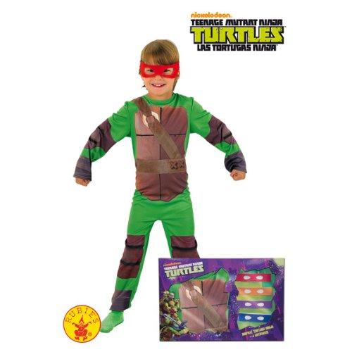 Imagen de rubie`s  disfraz infantil de tortugas ninja en caja 888261 m