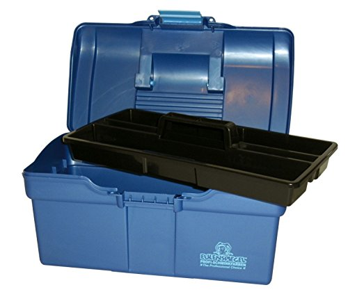 chmink-Koffer aus Kunststoff, klein, blau (Wer Sich Zu Verkleiden Für Halloween)