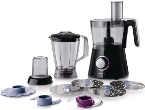philips-hr7762-90-robot-viva-collection-bol-blender-hachoir-disque-a-frites-moteur-750watts-noir