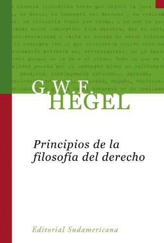 Principios de la filosofía del derecho por Georg Wilhelm Friedrich Hegel