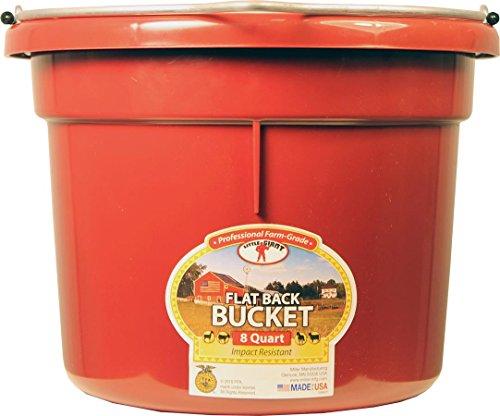 miller-manufacturing-plastic-flat-back-bucket-horses-resists-warpin-burgundy-8qt
