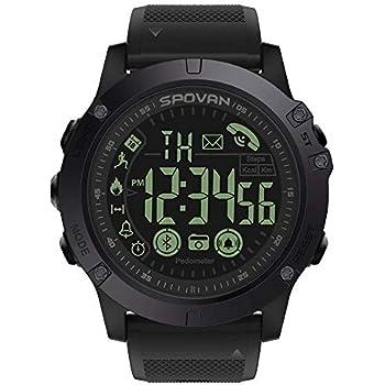 WINTER DONG Reloj Inteligente, Smartwatch con Pulsómetro Pulsera Actividad Multifuncion para Correr, Senderismo y Escalada,Reloj Corriendo para ...