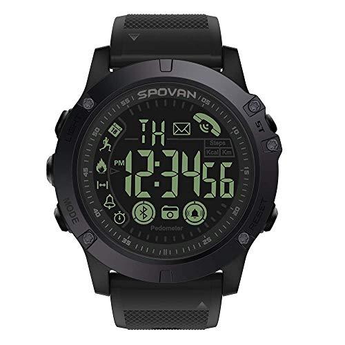 Senbos Montre Connectée Bluetooth Smartwatch Montre De Couleur Tactile De 1.3″ IP68 Connexion Étanche APP Le Sport en Plein Air avec Distance De Podomètre Moniteur De Santé Fitness Tracker d'Activité