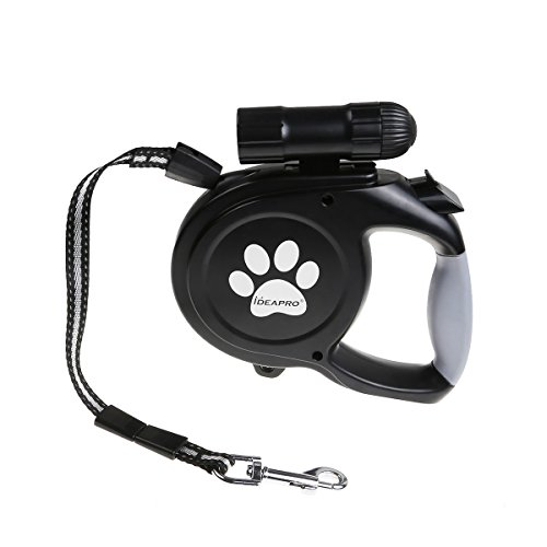 Dog-Training-Leash-IDEAPRO-Strong-Secure-Dog-Cat-Retractable-Lead