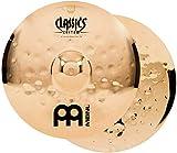 Meinl Cymbals CC14EMH-B Classics Custom Extreme Metal Serie 35,6 cm (14 Zoll) HiHat Becken Paar Brilliant