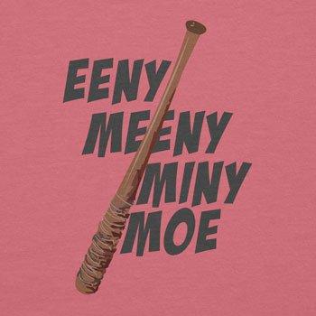 NERDO - Eeny Meeny Miny Moe - Damen T-Shirt Pink