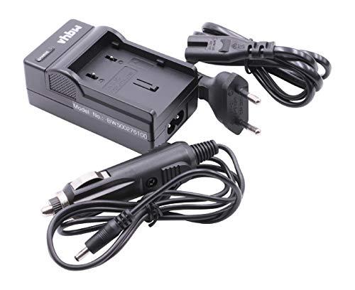 Caricabatterie da muro e da auto per batteria JVC BN-VF707 / VF714 / VF733 per GZ-MG Series: GZ-MG20 / GZ-MG21 / GZ-MG24, ecc