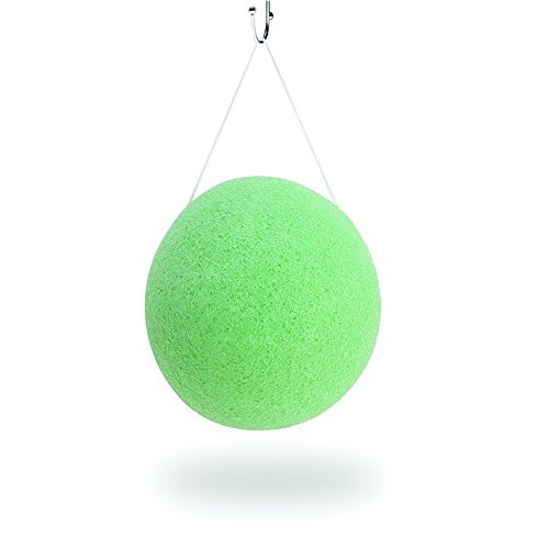 "AEC Konjac Sponge Aloe vera puff "" WHY damage your skin by using chemicals when you can go green with 100% natural konjac sponge"""