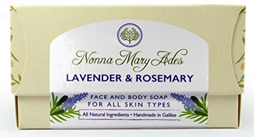Nonna Mary Ades Soap, Lavender and Rosemary