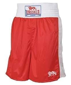 Lonsdale London Herren Boxerhose Rot M