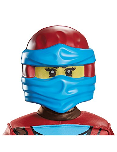 Nya Ninjago Maske von Lego (Rot Ninjago Kostüm)