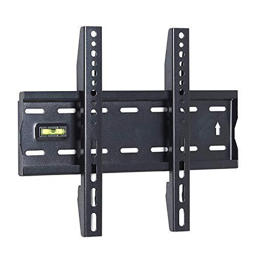 Miyako TV-Wandhalterung für die meisten 33 cm - 42 Zoll LED LCD Plasma Flachbildschirme bis zu 66 lbs VESA 200 x 200 Low Profile und platzsparend bis zu 10 Grad neigbar und Level LCD-1342 -