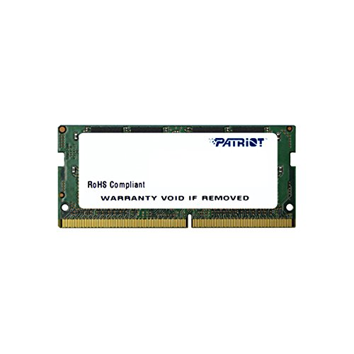 Dual-in-line-memory-modul (Patriot Signature Line DDR4 16GB (1x16GB) SODIMM Frequency: 2400MHz (PC4-19200) 1.2 Volt)