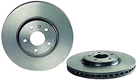 Brembo 09.A758.11 Front Brake Disc - Single Piece