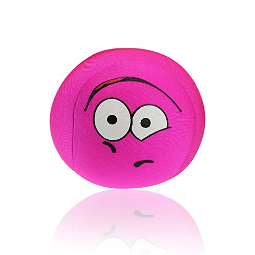 Tatis Kissen Cute Form Ball Kissen Cute Funny Ausdruck Kissen Spielzeug Kissen Bunter Smileyemoticon reizendes rundes Kissen-Kissen angefülltes Weiches Spielzeug Farbpuppenkissen
