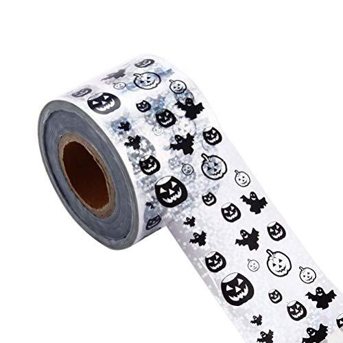 Amosfun Halloween Nail Art Sticker Assorted Nagelspitze Aufkleber Safe Maniküre Dekoration Halloween Kostüme für Frauen