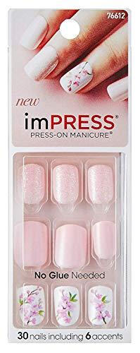 Impress One - Step Gel Press-On Manicure Nails, 30 Stück