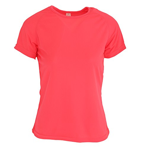 Sols Sporty Damen T-Shirt, Kurzärmlig Neon-Koralle