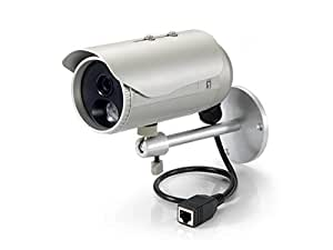 Feste IP-Netzwerkkamera, 3 Megapixel, 802.3af PoE, IR-LEDs, Innen / Außen