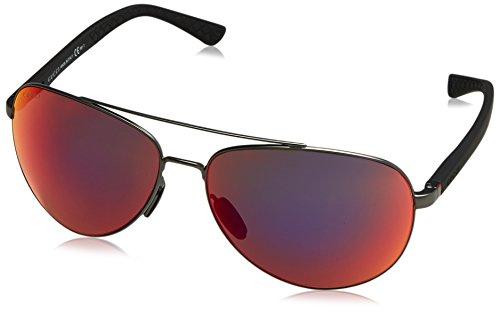 9c26d82a22 Gucci GG 2266/S Gafas de Sol, Silver Frame, 63 para Hombre