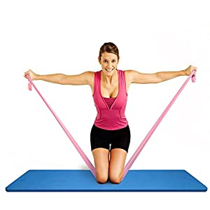 Yoga Widerstand Band Übung Stretch Therapie Bands für Home, Workout, Sport, Fitness? Pilates