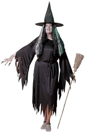 Déguisement de méchante sorcière grande taille - XL