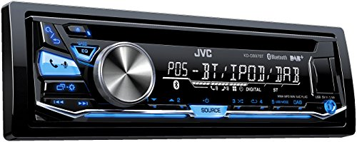 JVC KD-DB97BT USB/CD-Receiver (DAB+, Front-AUX, Bluetooth) schwarz (Auto Cd Mp3 Radio)