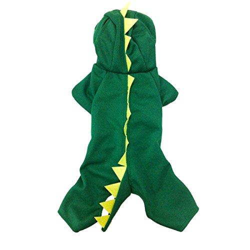 BAGEGE Halloween Haustier Hund Kostüm Dinosaurier Verklärung Persönlichkeit Kreativität (Dobermann Halloween Kostüme)