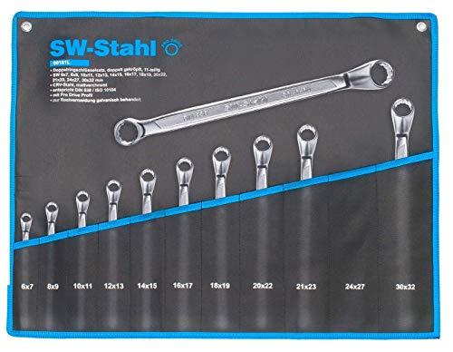 SW-Stahl 00181l Double Jeu de clés polygonales