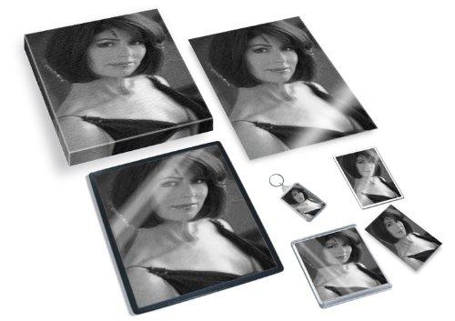 DANA DELANY - Original Art Gift Set #js001 (Includes - A4 Canvas - A4 Print - Coaster - Fridge Magnet - Keyring - Mouse Mat - Sketch Card) #js001