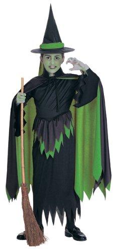 Böse Hexe des Westens Kostüm für Mädchen Halloween Verkleidung Small (Kostüme Amazon Oz Der Von Zauberer)