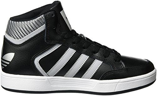 adidas Varial Mid, Montantes Homme Noir (Core Black/Lgh Solid Grey/Ftwr White)