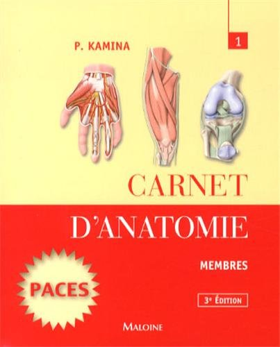 Carnet d'anatomie