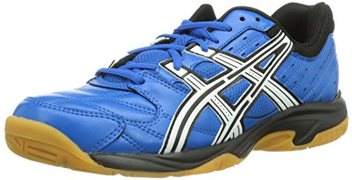 Asics GEL-SQUAD GS Jungen Handballschuhe Blau (Blue 4201)