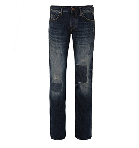 TRUE RELIGION Herren Jeans ROCCO RED SELVAGE