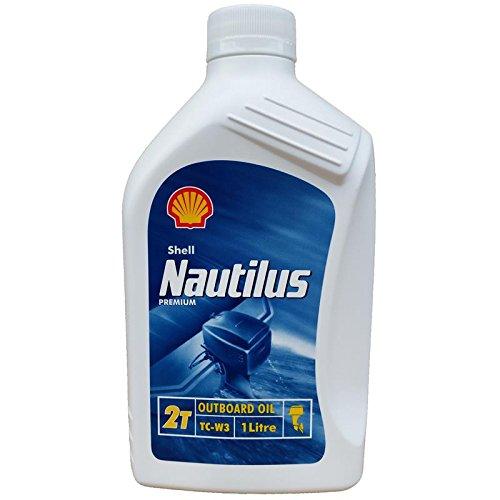 Preisvergleich Produktbild Shell Nautilus TC-W3 1 Liter 2-Takt Öl, Zweitaktmischöl Bootsmotorenöl, TCW3