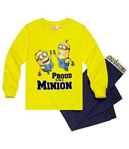 Minions despicable me ragazzi pigiama - giallo - 116