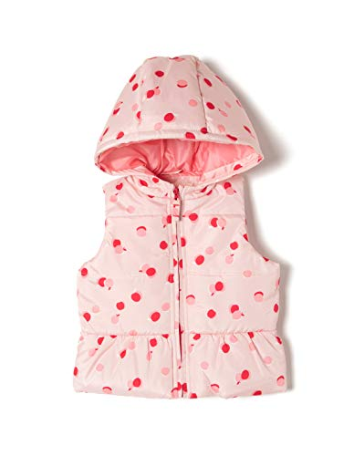 ZIPPY Baby-Mädchen Ztg0101_455_1 Weste, Pink (Potpourri 3401), 74 (Herstellergröße: 9/12M) -