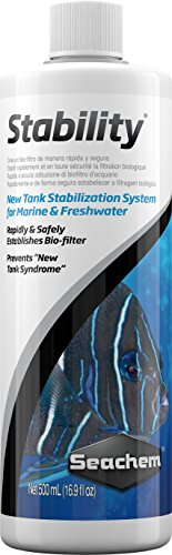 seachem sistema de estabilización de depósito de estabilidad, 500ml